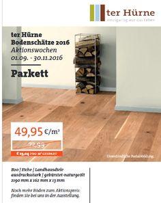 Qualitativ hochwertiger #Parkett Boden bei Ramrath-Holz aus #Korschenbroich