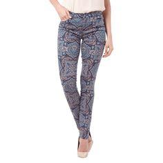 | #Esprit #Collection #Damen #Skinny #Fit #5-Pocket-Jeans mit #Allover-Muster