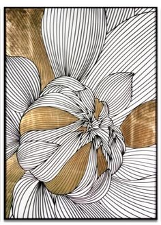 lovely intricate floral pattern with line art illustration and golden detail. lovely intricate floral pattern with line art illustration and golden detail. Art Floral, Motif Floral, Floral Patterns, Simplicity Patterns, Painting Inspiration, Art Inspo, L Wallpaper, Art Et Illustration, Flower Illustrations