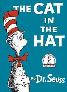 New The Cat in The Hat by Dr Seuss Hardcover Book 039480001X | eBay