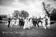 Haughley Park Barn Emma and Dean - Martin Beard Photography