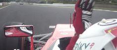 Ausraster beim Formel-1-Rennen in Japan