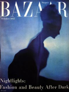 """Harper's Bazaar"", October 1957 