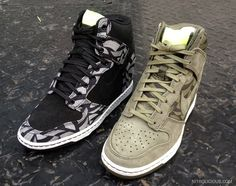 nike liberty dunk wedge  Haven't had a good hightop in a long time...