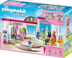 Playmobil 5486 City Life бутик с одеждой и гардеробной