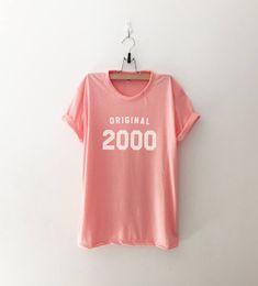 18th birthday 2000 party shirt birthday girl shirts graduation