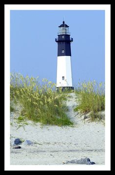 Tybee Island Lighthouse - Tybee Island, Georgia. When it was built in the 1700's it was the tallest structure in America at that time.