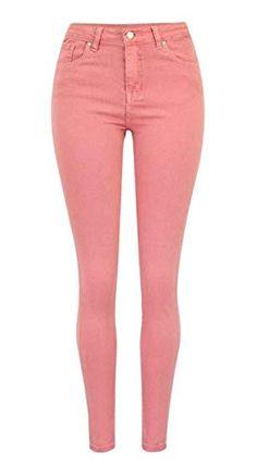 Pantalones De Lápiz Moda para Mujer Elásticos Delgados Pantalones Bastante  Pitillo Pantalones Botón De Color Sólido 0ae1a555637