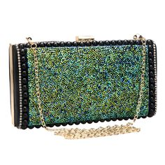 Mix design rhinestones green women messenger chain shoulder evening bags day clutches purse evening bag for lady handbags-in Evening Bags from Luggage & Bags on Aliexpress.com   Alibaba Group