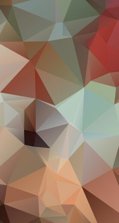 Polygon Surface iPhone Wallpaper
