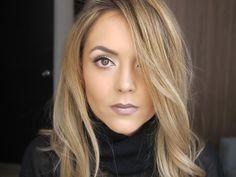 Maquillaje sobrio y muy elegante - YouTube