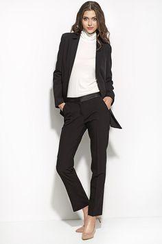 Le pantalon smoking au féminin, un intemporel toujours très élégant !