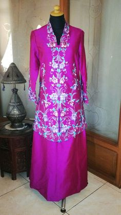 Blouse n skirt with handmade embroidery