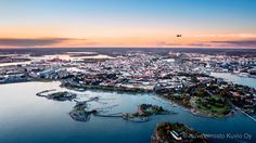 Helsinki at sunset (2013)