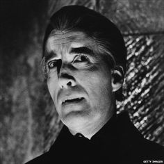 Chistopher Lee as Dracula in 'Dracula Has Risen From The Grave' (1968) from bbc