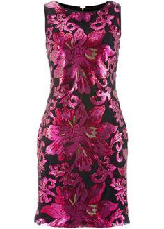 Premium Paillettenkleid, bpc selection premium, fuchsia/dunkelrot