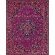 Argana Purple Area Rug