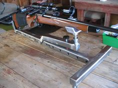 Portable Gun Rack Plans New Shooting Bench Building Plans Outdoor Shooting Range, Shooting Table, Shooting Rest, Shooting Targets, Archery Targets, Shooting Sports, Metal Projects, Welding Projects, Welding Ideas