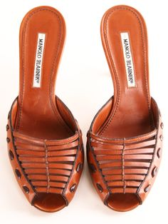 MANOLO BLAHNIK HEELS ... so bohemian, and I love that.