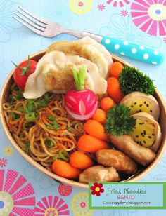 Cooking Gallery: Fried Noodles Bento