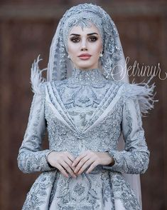 nişan elbise modelleri 2019 tesettür You can find different rumors about the real history of the wedding dress; Hijabi Wedding, Muslimah Wedding Dress, Muslim Wedding Dresses, Muslim Brides, Muslim Dress, Bridal Dresses, Wedding Gowns, Muslim Girls, Muslim Couples