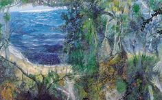 This Painting Life: William Robinson Exhibition - Australian Galleries Sydney Australian Painting, Australian Artists, Abstract Landscape Painting, Landscape Paintings, Contemporary Landscape, Artists Like, Coastal, Gallery, Water