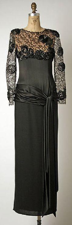 Evening dress Design House: Bill Blass Ltd. 1980s