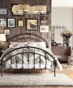 Iron Arch Queen Bed | zulily