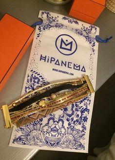 À vendre sur #vintedfrance ! http://www.vinted.fr/accessoires/bracelets/39826114-bracelet-hipanema-taille-m-dore #hipanema