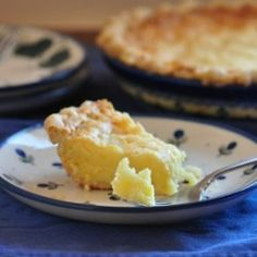Buttermilk Pie with Kefir