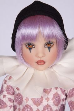 Last One Modern Doll Convention Kish Co Handpainted Face Shea Harlequin | eBay