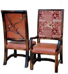 Handmade Dining Room Chairs  Custom Arm Chairs  Spt480A  Dining Entrancing Handmade Dining Room Chairs Inspiration