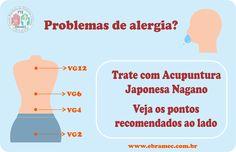 #DICA #ALERGIA #NAGANO #ACUPUNTURAJAPONESA  É muito comum nesta época do ano surgir casos de alergias por conta do clima. Por isso, a FTE EBRAMEC separou os pontos mais usados para alergia na Técnica Japonesa Nagano....  Não perca o curso de Acupuntura Japonesa -Técnica Nagano que acontecerá nos dias 21 e 22 de Janeiro com os professores Sadao e Kaoru!!   Para mais informações e inscrições ligue para: 00xx112662-1713 ou por mensagem no WhatsApp: 00xx1197504-9170