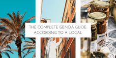 The Complete Genoa Guide: According to a Local- A local of Genoa gave us all the inside tips on what to do, see, eat, drink, and more to make your trip to Italy perfect! Experience Genoa like a local. Happy traveling!