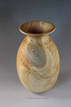 Image result for wood turning vases Wood Turning Projects, Wood Projects, Contemporary Vases, Wooden Vase, Wood Bowls, Wood Lathe, Wood Design, Wood Grain, Wood Art