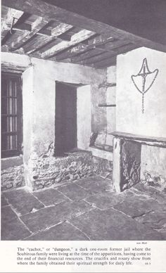 The cachot where St Bernadette Soubirous lived with her family at Lourdes
