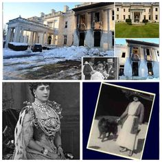 Edna Woolworth killed herself in 1918 in the forever locked Marie Antoinette room in the mansion. They say you can hear her crying from the room. She was the daughter of Founder of Woolworths. Her daughter 6 year old Barbara Hutton found her. Their house burned down 100 years ago and they built another, today 1-29-2015, the mansion burned again.