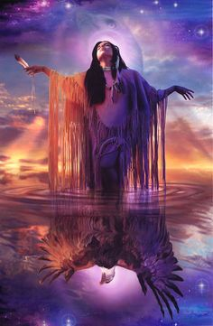 Native American beauty...art.