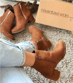 Suede ankle boots latest trend – Just Trendy Girls