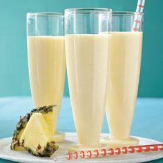 Pineapple-Ginger Smoothie - Our Best Pineapple Recipes - Cooking Light