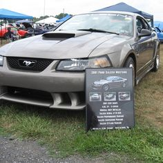 One of our customers showing off his #carshowboard at a #carshow with his #ford #mustang #saleen!! Get one for your car at showcarsign.com #fordmustang #saleenmustang #fordmustanggt #fordmustangs #saleenperformance #fordmustangsaleen #fordracing #fordperformance