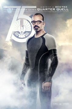 NEW CATCHING FIRE POSTERS SHOW OFF ALL OF THE VICTORS! Beetee (Jeffrey Wright)