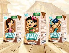 """Check out this @Behance project: """"Love'in Farm KUN Milk"""" https://www.behance.net/gallery/23249605/Lovein-Farm-KUN-Milk"""