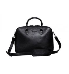 Baron Leather Computer Tote Bag - Black This is the perfect Baron bag for  the business f7ce9c556a