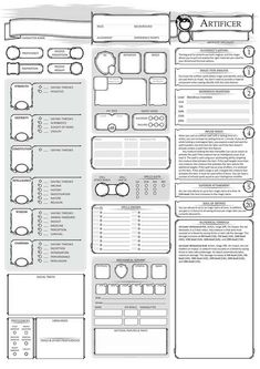 custom dnd 5e character sheet in 2018 d d character sheets character sheet character. Black Bedroom Furniture Sets. Home Design Ideas