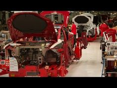 How the Tesla Model S is Made -- Behind The Scenes -- The Window - Wired - YouTube