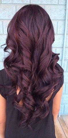 Violet haarkleuren: haarkleuren 2015 Ook violet wordt een haarkleur die we erg…
