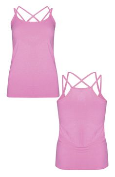 Primark - Purple Strappy Workout Vest