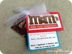Mom are the sweetest - and this candy craft costs under $1.00 http://mylitter.com/craft/mothers-day-craftcandy-treat-under-1/