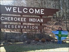 My daddy made sure to take us to awesome places on vacation. Our family loved the Indian Reservation in Cherokee, NC. My sister and I learned an Indian dance and got cool souvenirs!